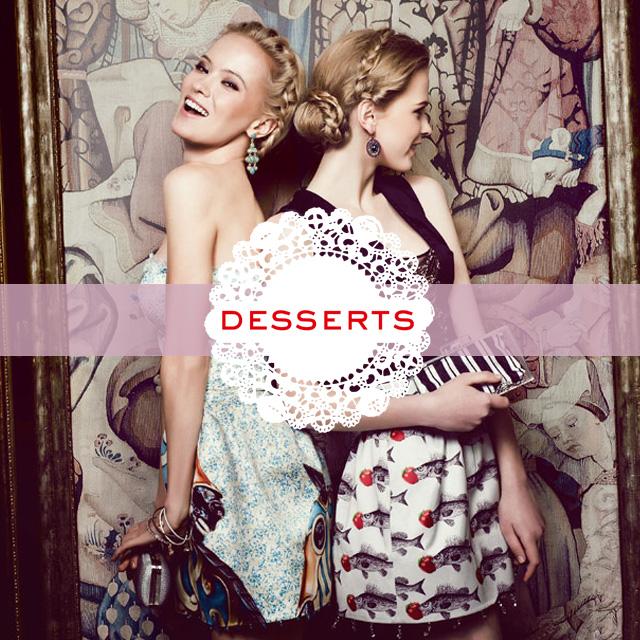 Заглушка для интернет-магазина «Dress Desserts»